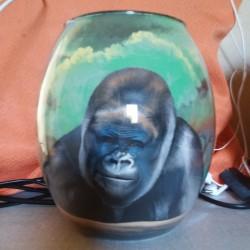 40 Zandschildering Gorilla
