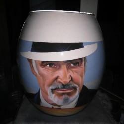 42 Zandschildering Sean Connery