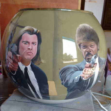 52 Zandschildering Pulp fiction