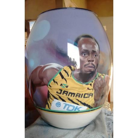 53 Zandschildering Usain Bolt