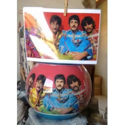57 Zandschildering The Beatles