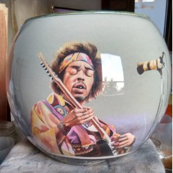 02 Zandschildering Jimi Hendrix
