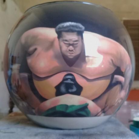 58 Zandschildering Sumo
