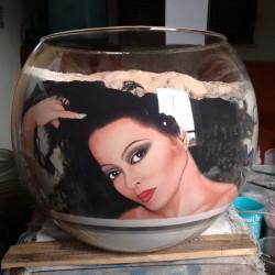 62 Zandschildering Diana Ross