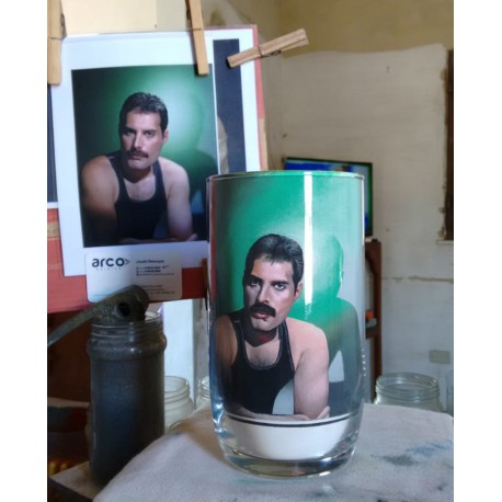 79 Zandschildering Freddie Mercury