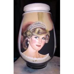 81 Zandschildering Prinses Diana