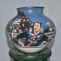 29 Zandschildering Zlatan Ibrahimovic